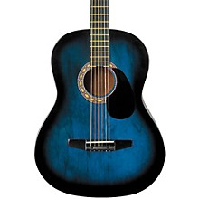 Starter Acoustic Guitar Blue Burst