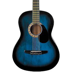 Rogue Starter Acoustic Guitar Blue Burst