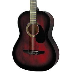 Starter Acoustic Guitar Red Burst
