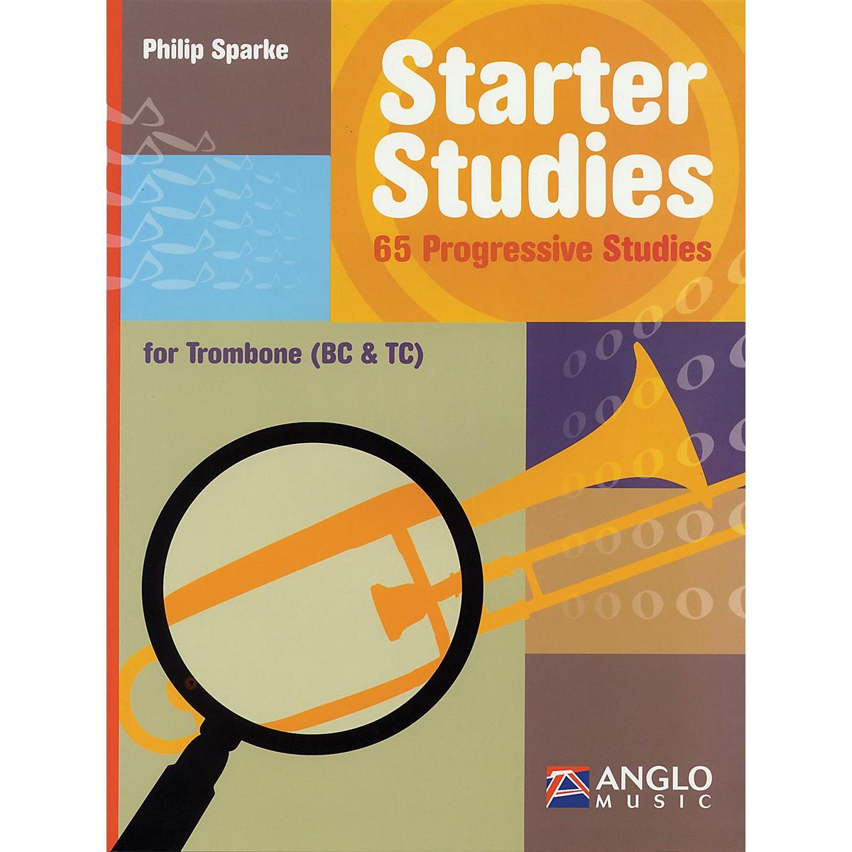 Anglo Music Starter Studies (Trombone) De Haske Play-Along Book Series Written by Philip Sparke