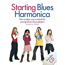 """Music Sales Starting Blues Harmonica Music Sales America Series Softcover with CD Written by Stuart """"Son"""" Maxwell"""