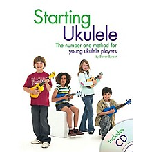 Music Sales Starting Ukulele Music Sales America Series Softcover with CD Written by Steven Sproat