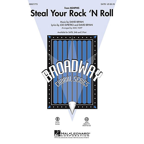 Hal Leonard Steal Your Rock 'n Roll (from Memphis) SAB Arranged by Mac Huff