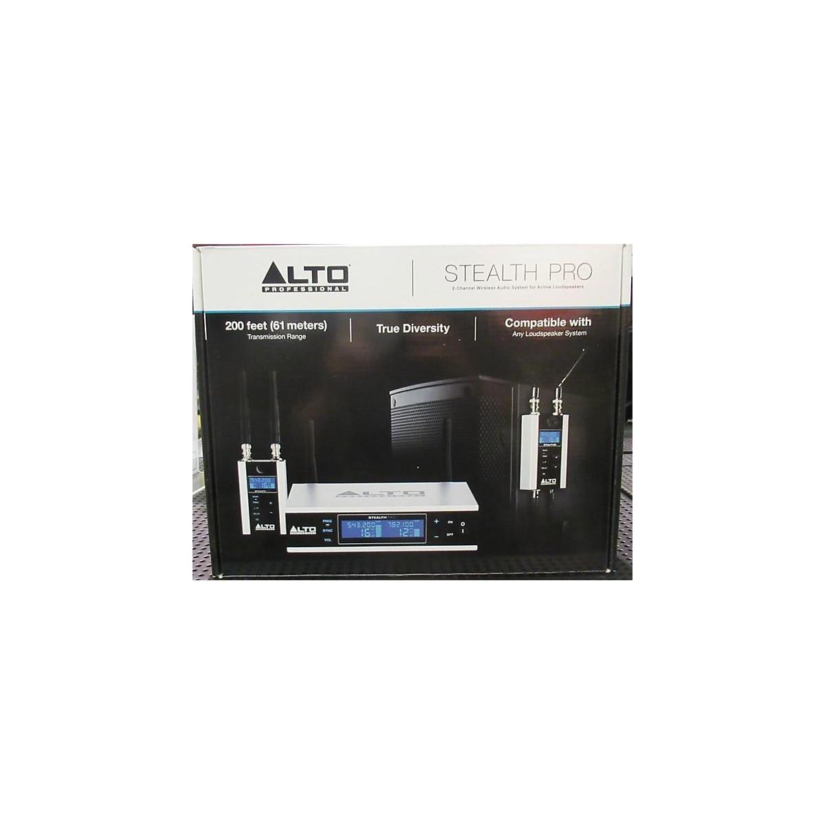 Alto Stealth Pro Wireless System
