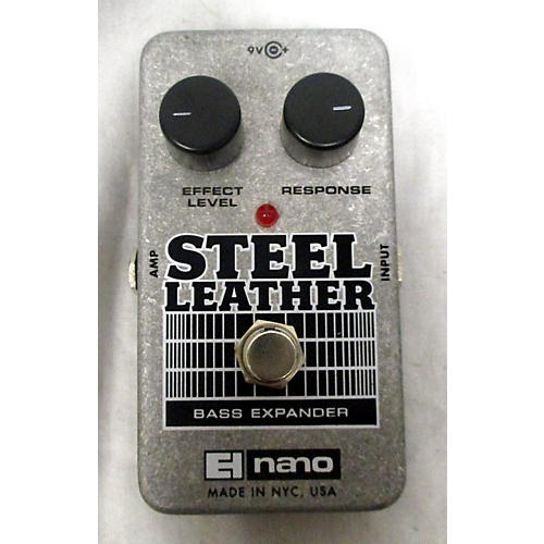 Electro-Harmonix Steel Leather Nano Bass Expander Bass Effect Pedal