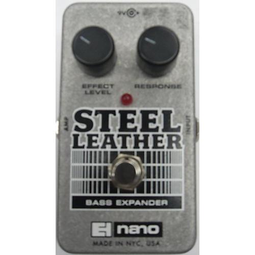 Electro-Harmonix Steel Leather Nano Bass Expander