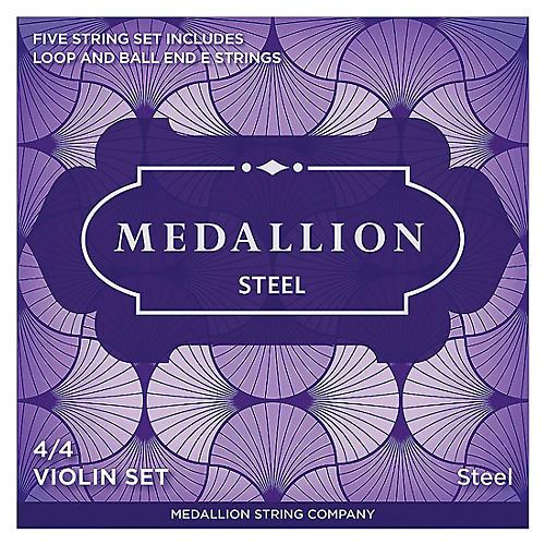 Medallion Strings Steel Violin String Set