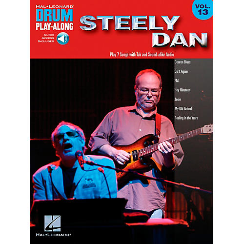 Hal Leonard Steely Dan - Drum Play-Along Volume 13 Book/CD