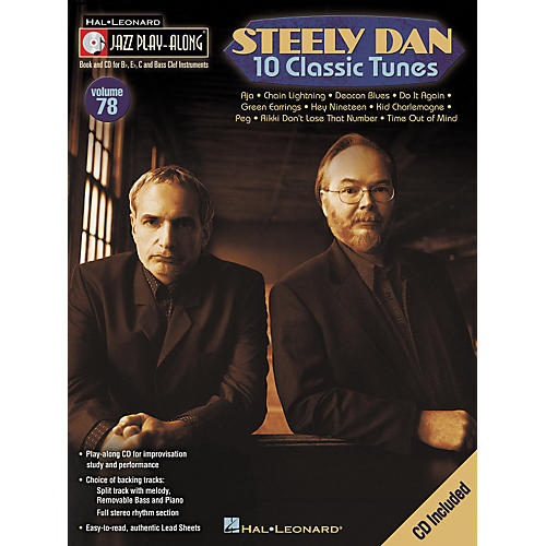 Hal Leonard Steely Dan 10 Classic Tunes - Jazz Play-Along, Volume 78 (CD/Booklet)