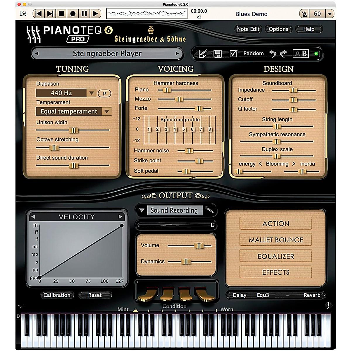 Pianoteq Steingraeber E-272 GP Software Download