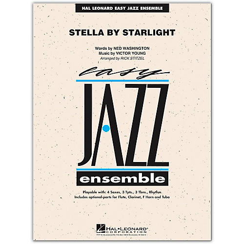 Hal Leonard Stella By Starlight - Easy Jazz Ensemble Series Level 2 Book/Online Audio