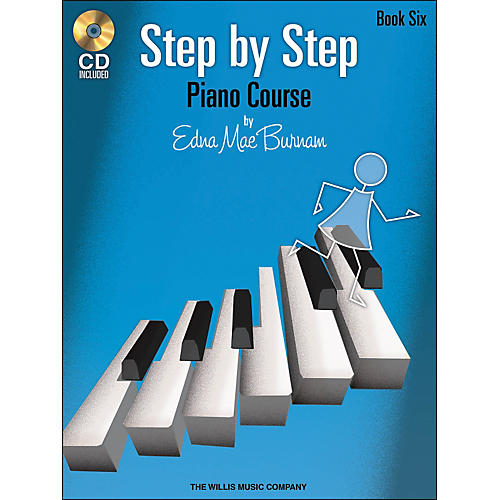 Willis Music Step By Step Piano Course Book 6 Book/CD