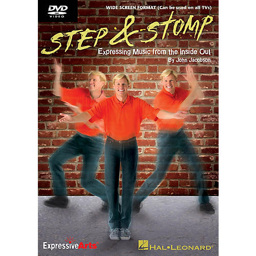 Hal Leonard Step & Stomp (Expressing Music from the Inside Out) DVD Composed by John Jacobson