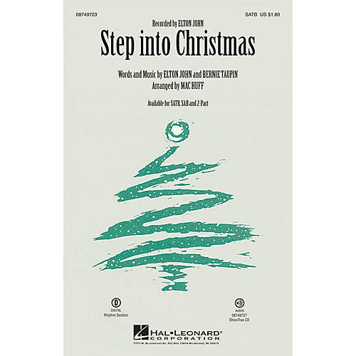 Hal Leonard Step into Christmas ShowTrax CD by Elton John Arranged by Mac Huff