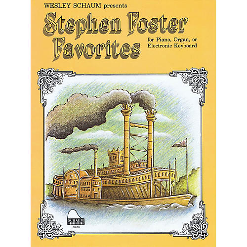 SCHAUM Stephen Foster Favorites Educational Piano Series Softcover