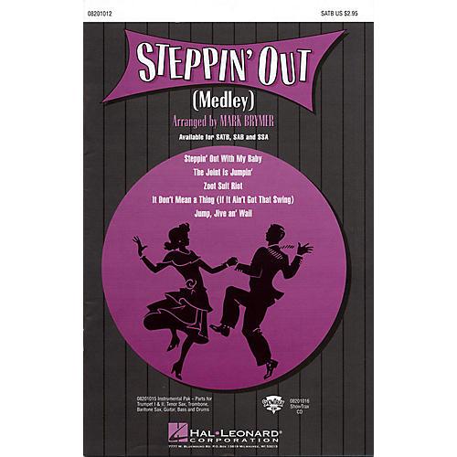 Hal Leonard Steppin' Out (Medley) SATB arranged by Mark Brymer