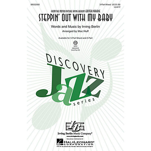 Hal Leonard Steppin' Out with My Baby (Discovery Level 2) VoiceTrax CD Arranged by Mac Huff