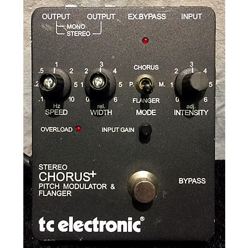 TC Electronic Stereo Chorus + Effect Pedal