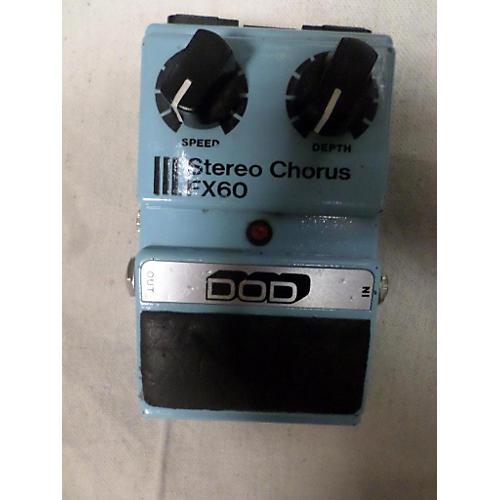 DOD Stereo Chorus FX60 Effect Pedal