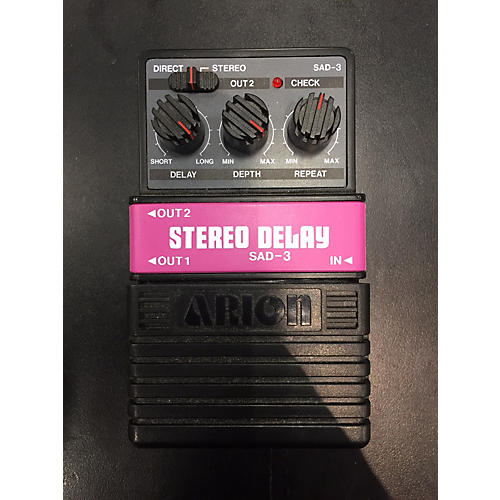 Arion Stereo Delay Effect Pedal