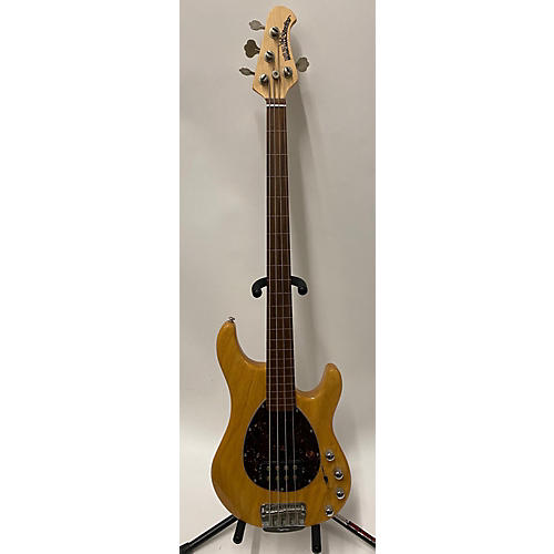 used ernie ball music man sterling 4 string electric bass guitar natural guitar center. Black Bedroom Furniture Sets. Home Design Ideas