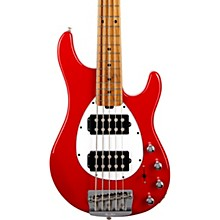 Sterling 5 HH Bass Scarlet Red