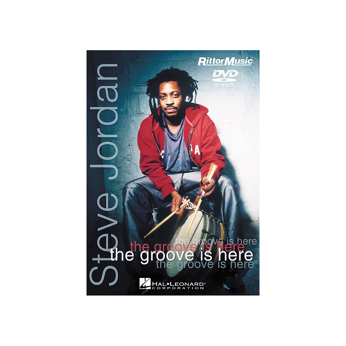Hal Leonard Steve Jordan - The Groove is Here (DVD)