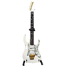 Axe Heaven Steve Vai - Signature White Jem Miniature Guitar Replica Collectible