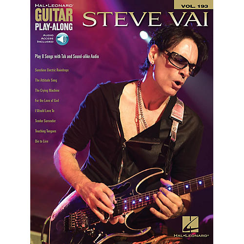 Hal Leonard Steve Vai Guitar Play-Along Volume 193 Book/Audio Online
