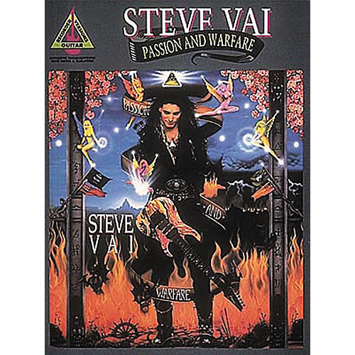 Hal Leonard Steve Vai Passion and Warfare Transcribed Scores Book