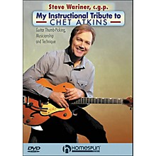 "Homespun Steve Wariner, C.G.P. - ""My Instructional Tribute To Chet Atkins"" DVD"