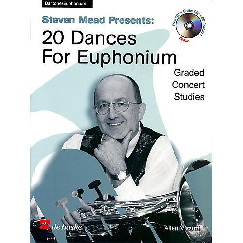De Haske Music Steven Mead Presents 20 Dances for Euphonium (Bass Clef) De Haske Play-Along Book Series by Steven Mead