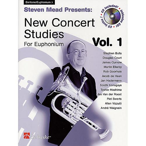 Hal Leonard Steven Mead Presents: New Concert Studies for Euphonium De Haske Play-Along Book BK/CD by Steven Mead
