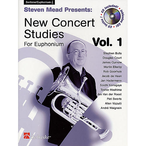 De Haske Music Steven Mead Presents: New Concert Studies for Euphonium De Haske Play-Along Book Series by Steven Mead