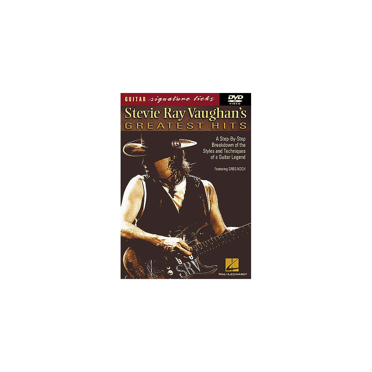 Hal Leonard Stevie Ray Vaughan's Greatest Hits DVD