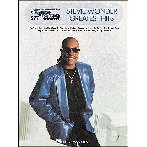 Hal Leonard Stevie Wonder Greatest Hits E-Z Play 277