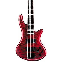 Stiletto Custom-5 Bass Satin Vampire Red