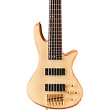 Stiletto Custom 6 6-String Bass Guitar Satin Natural