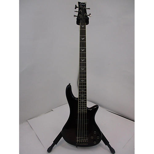 Schecter Guitar Research Stiletto Extreme 5 String Electric Bass Guitar