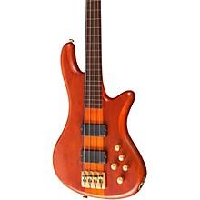 Schecter Guitar Research Stiletto Studio-4 Fretless Bass Level 1 Satin Honey