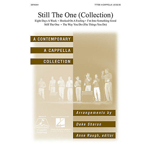 Hal Leonard Still the One TTBB Div A Cappella arranged by Deke Sharon and Anne Raugh