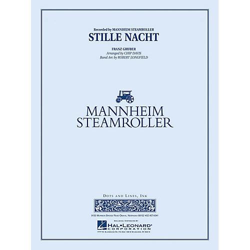 Mannheim Steamroller Stille Nacht Concert Band Level 3-4 by Mannheim Steamroller Arranged by Robert Longfield