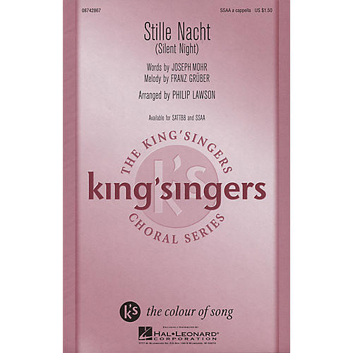 Hal Leonard Stille Nacht (SSAA a cappella) SSAA A Cappella arranged by Philip Lawson
