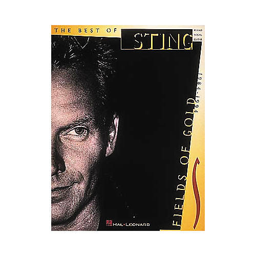 Hal Leonard Sting - Fields of Gold Piano/Vocal/Guitar Artist Songbook