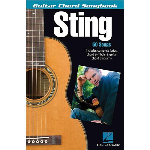 Hal Leonard Sting - Guitar Chord Songbook