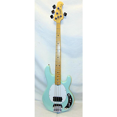 used sterling by music man stingray electric bass guitar seafoam green guitar center. Black Bedroom Furniture Sets. Home Design Ideas