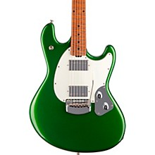 StingRay RS Maple Fingerboard Electric Guitar Charging Green