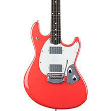 StingRay RS Rosewood Fingerboard Electric Guitar Coral Red
