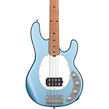 StingRay Ray34 Maple Fingerboard Electric Bass Firemist Silver