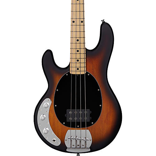 Sterling by Music Man StingRay Ray4LH Maple Fingerboard Left-Handed Electric Bass